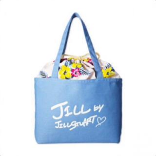 JILL by JILLSTUART - sweet JILLSTUART アロハ柄巾着つきトート