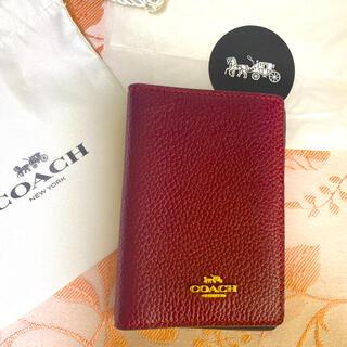 コーチ(COACH)のCOACH コーチ 名刺入れ カード入れ カードケース 新品未使用(名刺入れ/定期入れ)