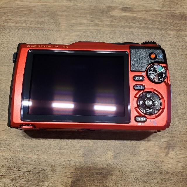OLYMPUS(オリンパス)のOLYMPUS TG-6 PT-059セット 一日のみ使用 スマホ/家電/カメラのカメラ(コンパクトデジタルカメラ)の商品写真