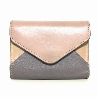 クロエ(Chloe)のクロエ 3つ折り財布 パッチワーク 3P0208(財布)