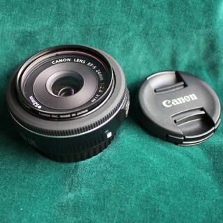 Canon - CANON レンズ EFS24mm F2.8STM 単焦点 中古美品