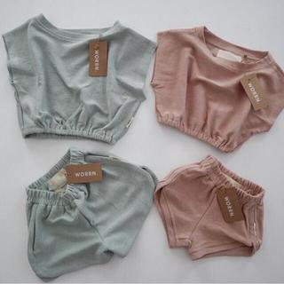 キャラメルベビー&チャイルド(Caramel baby&child )のworrn.  テリー トップス Tシャツ(Tシャツ/カットソー)