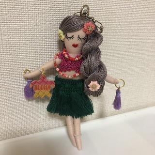 ハンドメイドドールチャーム  フラドール(人形)