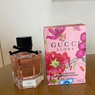 グッチ(Gucci)の美品 GUCCI フローラ 香水 50ml(香水(女性用))