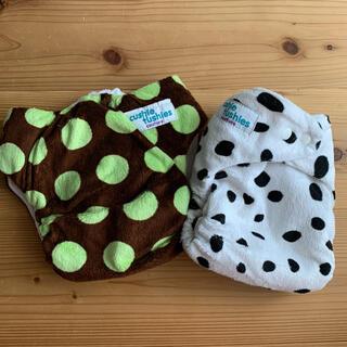 布おむつ Cushie Tushies おむつカバー 2セット(布おむつ)