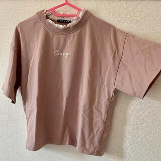 イング(INGNI)のTシャツ【くすみピンク】(Tシャツ(半袖/袖なし))