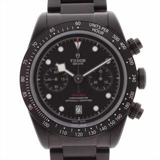 チュードル(Tudor)のチュードル ブラックベイ クロノ ダーク SS   メンズ 腕時計(腕時計(アナログ))