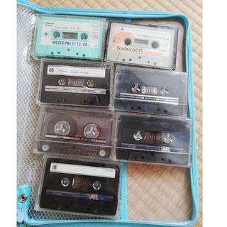ティーディーケイ(TDK)の録音あり ジャンク 中古カセットテープ7本(その他)
