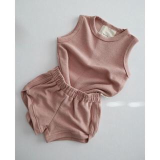 キャラメルベビー&チャイルド(Caramel baby&child )のworrn. テリー タンクトップ(Tシャツ/カットソー)