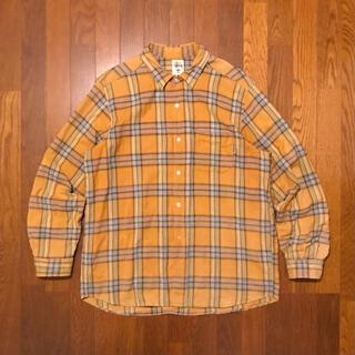 STUSSY - 激レア!90's OLD STUSSY VINTAGE チェックシャツ