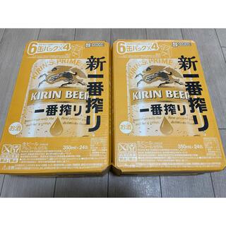 キリンビール 一番搾り 350ml×48缶 2ケース