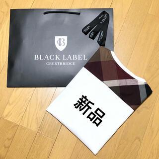 BURBERRY - 新品 ブラックレーベルクレストブリッジ 半袖TシャツM