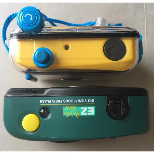 トイカメラVivitarUW100とEZ BIG NEW水中カメラフィルムカメラ スマホ/家電/カメラのカメラ(フィルムカメラ)の商品写真
