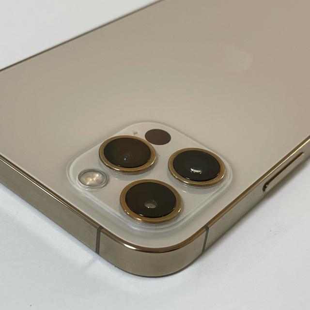 iPhone(アイフォーン)の■新品同様品 SIMフリーiPhone12pro  256GB ゴールド■ スマホ/家電/カメラのスマートフォン/携帯電話(スマートフォン本体)の商品写真