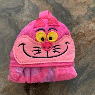 フシギノクニノアリス(ふしぎの国のアリス)のディズニー チシャ猫 タオルハンカチ(キャラクターグッズ)