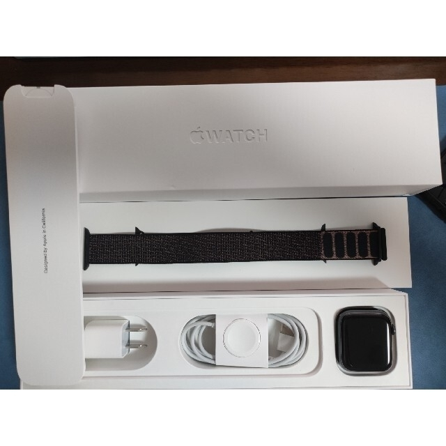 Apple Watch(アップルウォッチ)のApple Watch Series4 44mm GPS MU6E2J/A メンズの時計(腕時計(デジタル))の商品写真