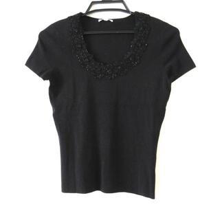 トゥービーシック(TO BE CHIC)のトゥービーシック 半袖セーター サイズ2 M(ニット/セーター)