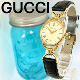 Gucci - 204 GUCCI グッチ時計 レディース腕時計 ブラック アンティーク 人気