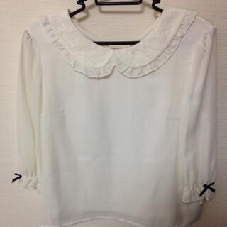 ロディスポット(LODISPOTTO)の白トップス(シャツ/ブラウス(半袖/袖なし))