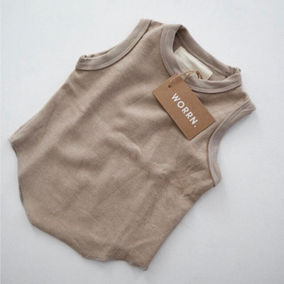 Caramel baby&child  - worrn. テリー タンクトップ