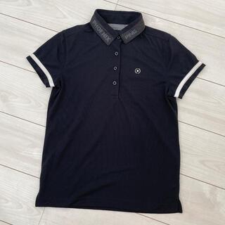 ピン(PING)のPING ポロシャツ ブラック レディース ゴルフウエア(ウエア)