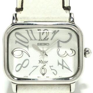 セイコー(SEIKO)のセイコー 腕時計 - 1N01-0FF0 レディース(腕時計)