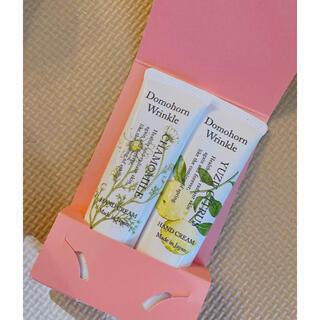 ドモホルンリンクル - 本日発送可能 ドモホルンリンクル ハンドクリーム  カモミールの香り ゆずの香り