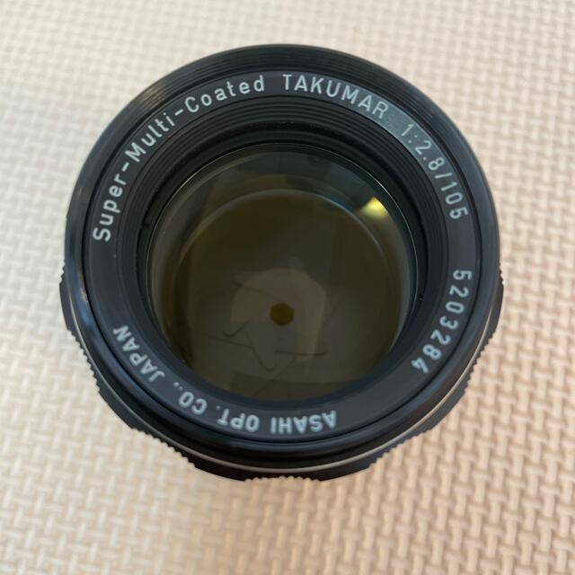 PENTAX(ペンタックス)のPentax smc takumar 105mm F2.8レンズ スマホ/家電/カメラのカメラ(レンズ(単焦点))の商品写真