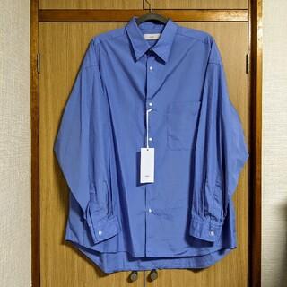 1LDK SELECT - Graphpaper ブロードオーバーサイズL/Sレギュラーカラーシャツ