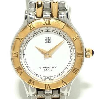 ジバンシィ(GIVENCHY)のジバンシー 腕時計 - レディース 白(腕時計)