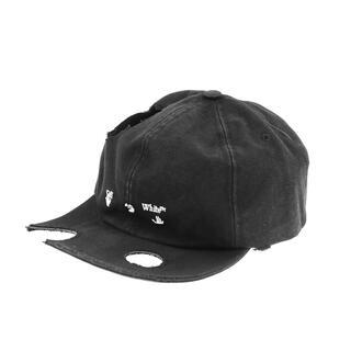 OFF-WHITE - OFF-WHITE METEOR OW LOGO BASEBALL CAP