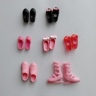 Takara Tomy - リカちゃんの靴 7足セット★タカラトミー製★中古美品★シューズ
