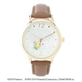 イッツデモ(ITS'DEMO)の 新品   イッツデモ  革ベルトウォッチ<ポケモン> ブラウン  (腕時計)