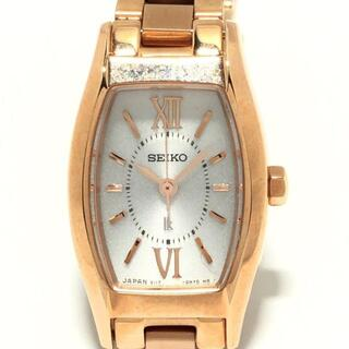 セイコー(SEIKO)のセイコー 腕時計 LUKIA(ルキア) V117-0DL0(腕時計)