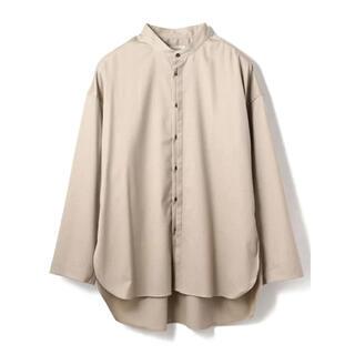 COMOLI - トワロニエ  toironier  バンドカラーシャツ