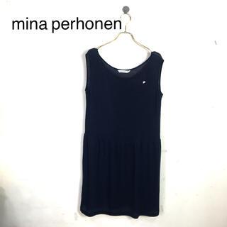mina perhonen - B54 mina perhonen ミナペルホネン ノースリーブトップス