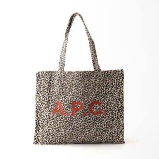 A.P.C - 新品◇A.P.C.アー・ペー・セー レオパードショッピングバッグ