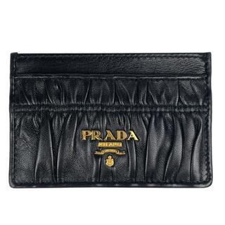 プラダ(PRADA)のプラダ ロゴ カードケース レディース 【中古】(パスケース/IDカードホルダー)