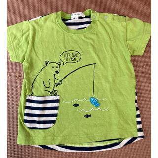 サンカンシオン(3can4on)のサンカンシオン Tシャツ 90cm(Tシャツ/カットソー)