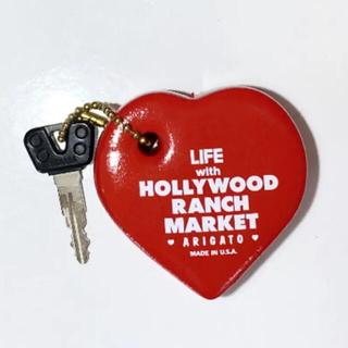 HOLLYWOOD RANCH MARKET - ハリウッドランチマーケット ハートキーホルダー キムタク着