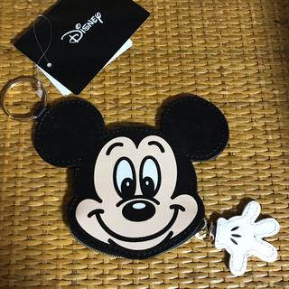 ディズニー(Disney)のミッキー コインケース(コインケース/小銭入れ)
