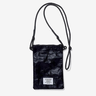 W)taps - WTAPS 21ss HANG OVER POUCH BLACK 新品未使用