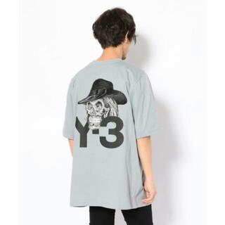 Y-3 - y-3 スカルグラフィックTシャツ