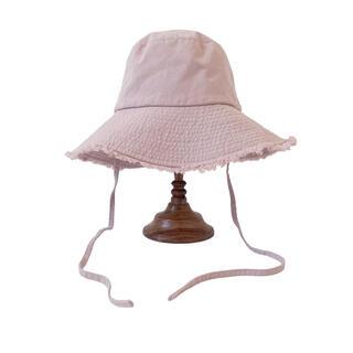 シールームリン(SeaRoomlynn)のFRINGE STRAP BUCKET HAT(ハット)