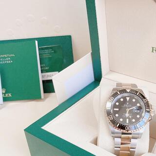 ロレックス(ROLEX)のロレックス シードゥエラーコンビ126603 付属品(腕時計(アナログ))