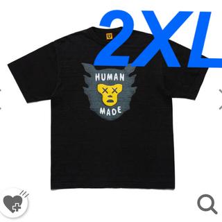 "GDC - HUMAN MADE KAWS T-Shirt #1 ""Black"""