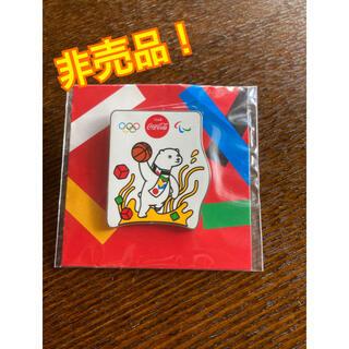 コカ・コーラ - コカコーラ ピンバッチ 東京オリンピック バスケット