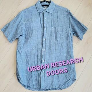 ドアーズ(DOORS / URBAN RESEARCH)のURBAN RESEARCH DOORS ピュアリネンシャツ(シャツ)