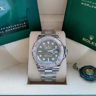 ロレックス(ROLEX)の【ひーちゃん様専用①】ロレックス ヨットマスター 126622 ダークロジウム (腕時計(アナログ))