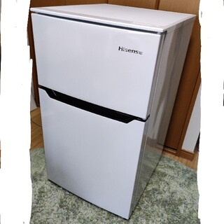 美品 冷蔵庫 冷凍庫 Hisense HR-B95A 2018年製